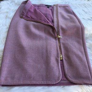 J.Crew :Wool  No.2 Pencil Skirt Side Zipper Size 6
